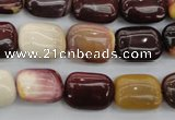 CMK96 15.5 inches 12*16mm rectangle mookaite beads wholesale