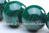 CMN05 8mm round A grade natural malachite beads wholesale