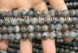 CMQ102 15.5 inches 8mm round moss quartz beads wholesale