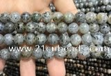 CMQ103 15.5 inches 10mm round moss quartz beads wholesale