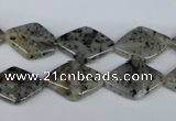 CMO20 15.5 inches 13*18mm diamond moss quartz beads wholesale