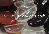CMQ06 15.5 inches 18*25mm oval multicolor quartz beads wholesale