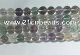 CMQ459 15.5 inches 12mm round colorfull quartz beads wholesale