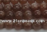 CMS1022 15.5 inches 8mm round AA grade moonstone gemstone beads