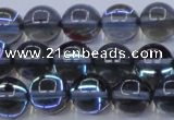 CMS1513 15.5 inches 10mm round synthetic moonstone beads wholesale