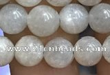 CMS1651 15.5 inches 6mm round grey moonstone beads wholesale