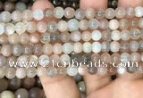 CMS1685 15.5 inches 6mm round rainbow moonstone beads wholesale