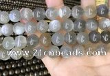 CMS1944 15.5 inches 12mm round grey moonstone beads wholesale