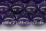 CNA1152 15.5 inches 8mm round natural amethyst gemstone beads