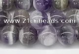 CNA1155 15.5 inches 6mm round natural dogtooth amethyst beads