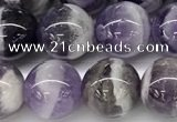 CNA1157 15.5 inches 10mm round natural dogtooth amethyst beads