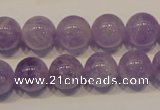 CNA301 15.5 inches 10mm round natural lavender amethyst beads