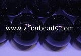 CNA566 15.5 inches 16mm round AA grade natural dark amethyst beads
