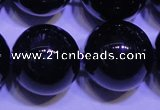 CNA577 15.5 inches 18mm round AAA grade natural dark amethyst beads