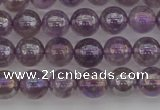 CNA701 15.5 inches 6mm round AB-color amethyst gemstone beads
