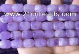 CNA785 15.5 inches 10*14mm drum lavender amethyst beads