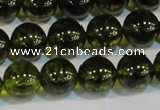 CNC433 15.5 inches 10mm round dyed natural white crystal beads