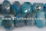 CNG1078 15.5 inches 10*14mm - 15*20mm faceted nuggets agate beads