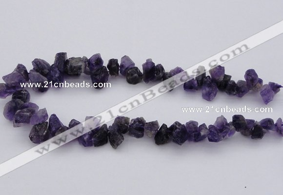 CNG1121 15.5 inches 8*12mm - 13*18mm nuggets amethyst beads