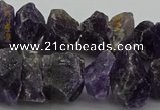 CNG1138 15.5 inches 8*12mm - 13*18mm nuggets amethyst beads
