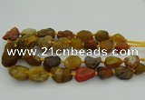 CNG1168 15.5 inches 15*25mm - 25*30mm nuggets agate beads
