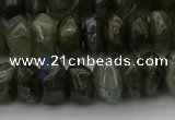 CNG1186 15.5 inches 6*14mm - 8*14mm nuggets labradorite beads
