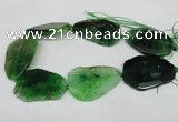 CNG1215 15.5 inches 35*40mm - 40*55mm freeform agate beads