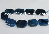 CNG1682 15.5 inches 30*40mm freeform agate gemstone beads wholesale