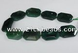 CNG1683 15.5 inches 30*40mm freeform agate gemstone beads wholesale