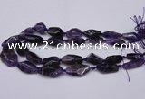 CNG1705 15.5 inches 15*20mm - 18*35mm nuggets amethyst beads