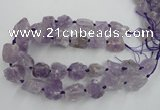 CNG1822 15.5 inches 20*25mm - 25*30mm nuggets amethyst beads