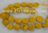 CNG2411 15.5 inches 22*28mm - 28*35mm freeform agate beads