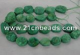 CNG2415 15.5 inches 22*28mm - 28*35mm freeform agate beads