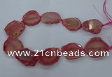 CNG2610 15.5 inches 30*35mm - 40*45mm freeform agate beads
