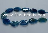 CNG2639 15.5 inches 22*30mm - 25*35mm freeform agate beads