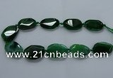 CNG2640 15.5 inches 22*30mm - 25*35mm freeform agate beads