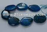CNG2657 15.5 inches 38*48mm - 42*55mm freeform agate beads