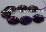 CNG2690 15.5 inches 40*50mm - 45*55mm freeform agate gemstone beads
