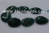 CNG2692 15.5 inches 40*50mm - 45*55mm freeform agate gemstone beads