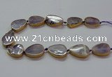 CNG2723 15.5 inches 18*28mm - 20*30mm freeform amethyst beads