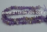 CNG2822 10*14mm - 13*18mm faceted nuggets lavender amethyst beads