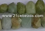 CNG2829 15.5 inches 10*14mm - 13*18mm faceted nuggets aquamarine beads