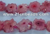 CNG2969 15.5 inches 8*10mm - 15*18mm freeform druzy agate beads