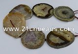 CNG3031 15.5 inches 50*55mm - 60*70mm freeform druzy agate beads