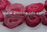CNG3064 15.5 inches 13*18mm - 18*25mm freeform druzy agate beads