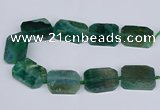 CNG3084 15.5 inches 30*40mm - 35*45mm freeform agate beads