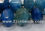 CNG3178 15.5 inches 12*16mm - 25*30mm nuggets agate beads