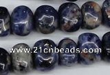 CNG32 15.5 inches 11*15mm nuggets sodalite gemstone beads