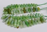 CNG3226 15.5 inches 10*20mm - 12*40mm faceted nuggets agate beads