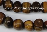 CNG33 15.5 inches 11*15mm nuggets yellow tiger eye gemstone beads